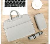 Túi chống sốc thời trang da PU Cao cấp TCS 064 cho laptop macbook 13 - 15.6 inch freeship toàn quốc