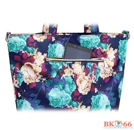 túi chống sốc suoyate họa tiết hoa