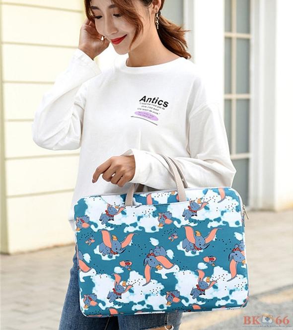 túi chống sốc thời trang họa tiết mẫu voi bay