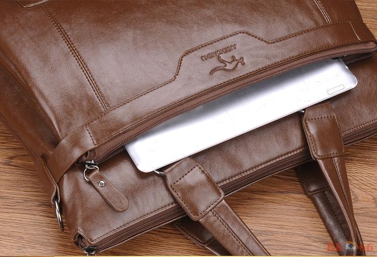 Túi đựng laptop macbook da cao cấp cho nam