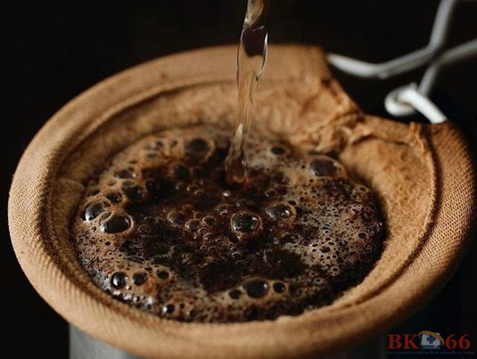 Vợt lọc cà phê enema