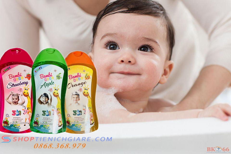 sữa tắm an toàn cho bé