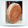 Thớt gỗ nghiến đường kính 40cm siêu bền, không mùn